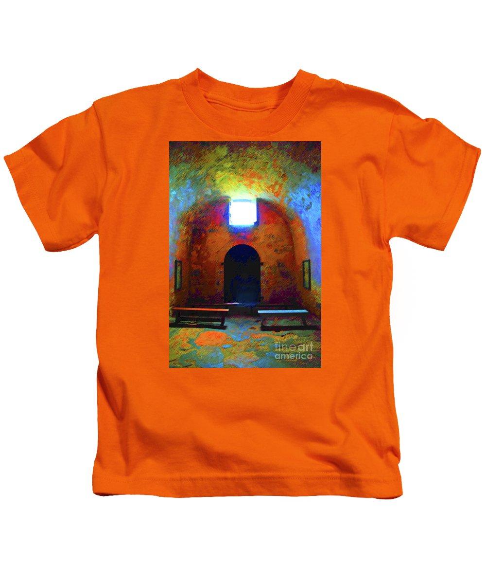 Chapel Kids T-Shirt featuring the photograph Castillo De San Marcos Chapel by Jost Houk