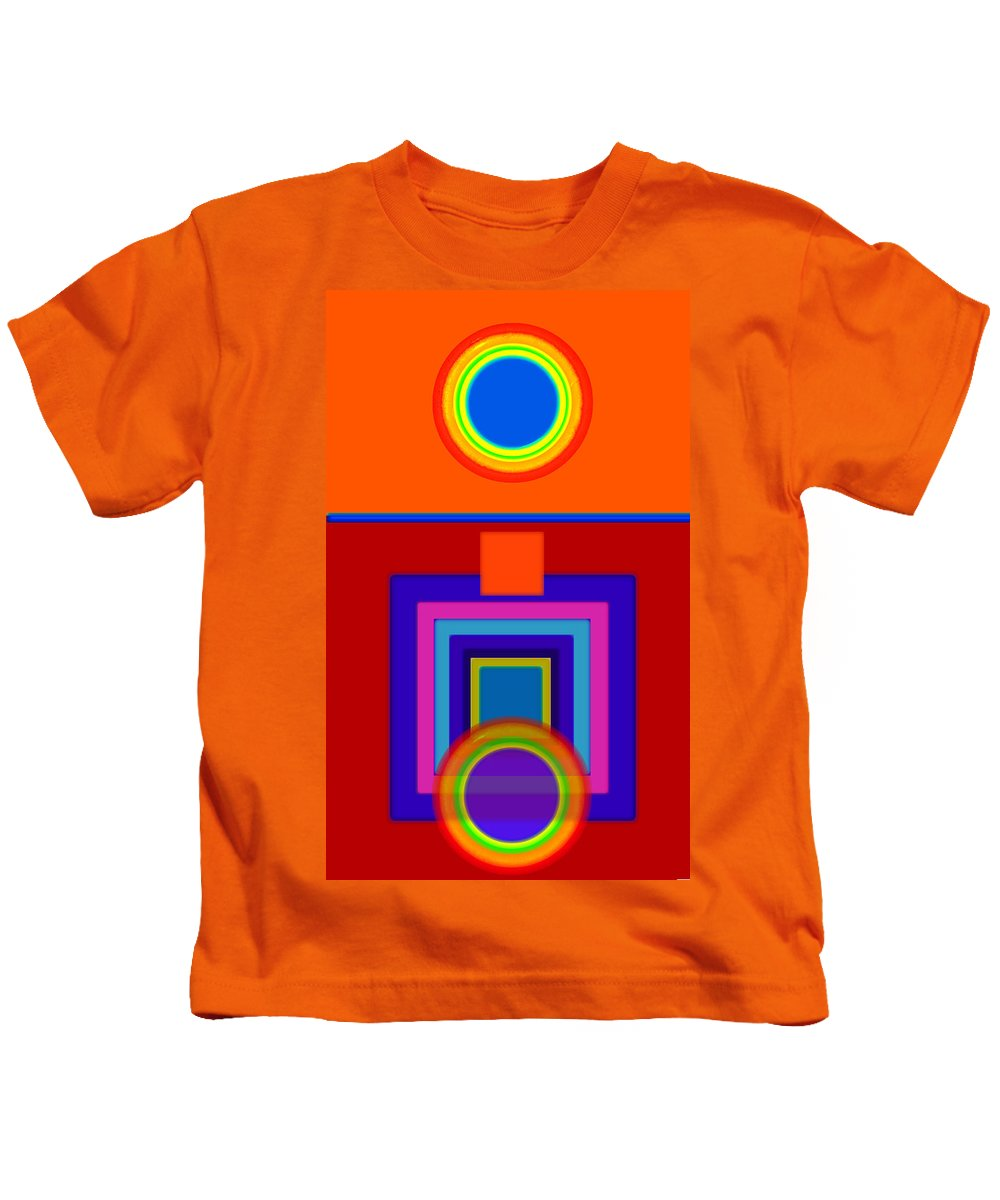 Classical Kids T-Shirt featuring the painting Classical Wheels by Charles Stuart