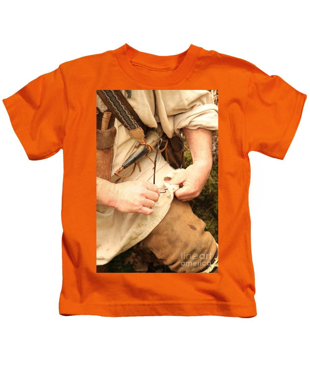 Kids T-Shirt featuring the photograph Clean View by Kim Henderson