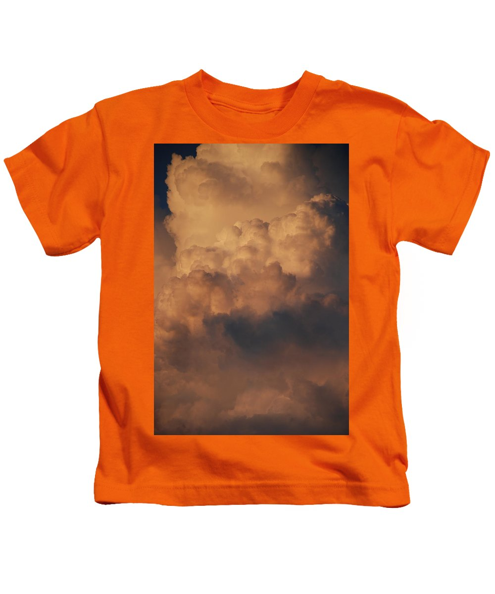 Clouds Kids T-Shirt featuring the photograph Clouds In Color by Rob Hans