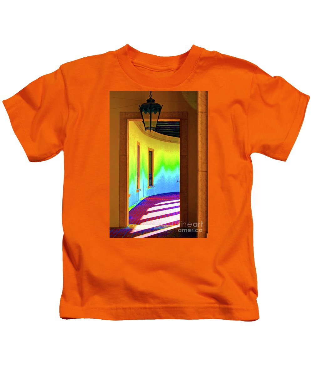 Color Kids T-Shirt featuring the photograph Color Light by Jost Houk