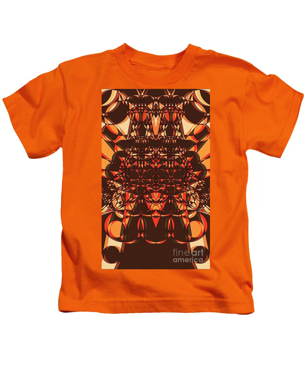 Colors Kids T-Shirt featuring the drawing Colorful Pinball Wizardry by Marie Ward-Alonge