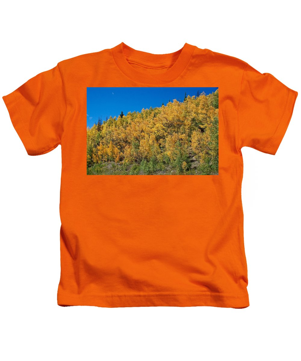 Landscape Kids T-Shirt featuring the digital art Colors Of Colorado by Dennis House