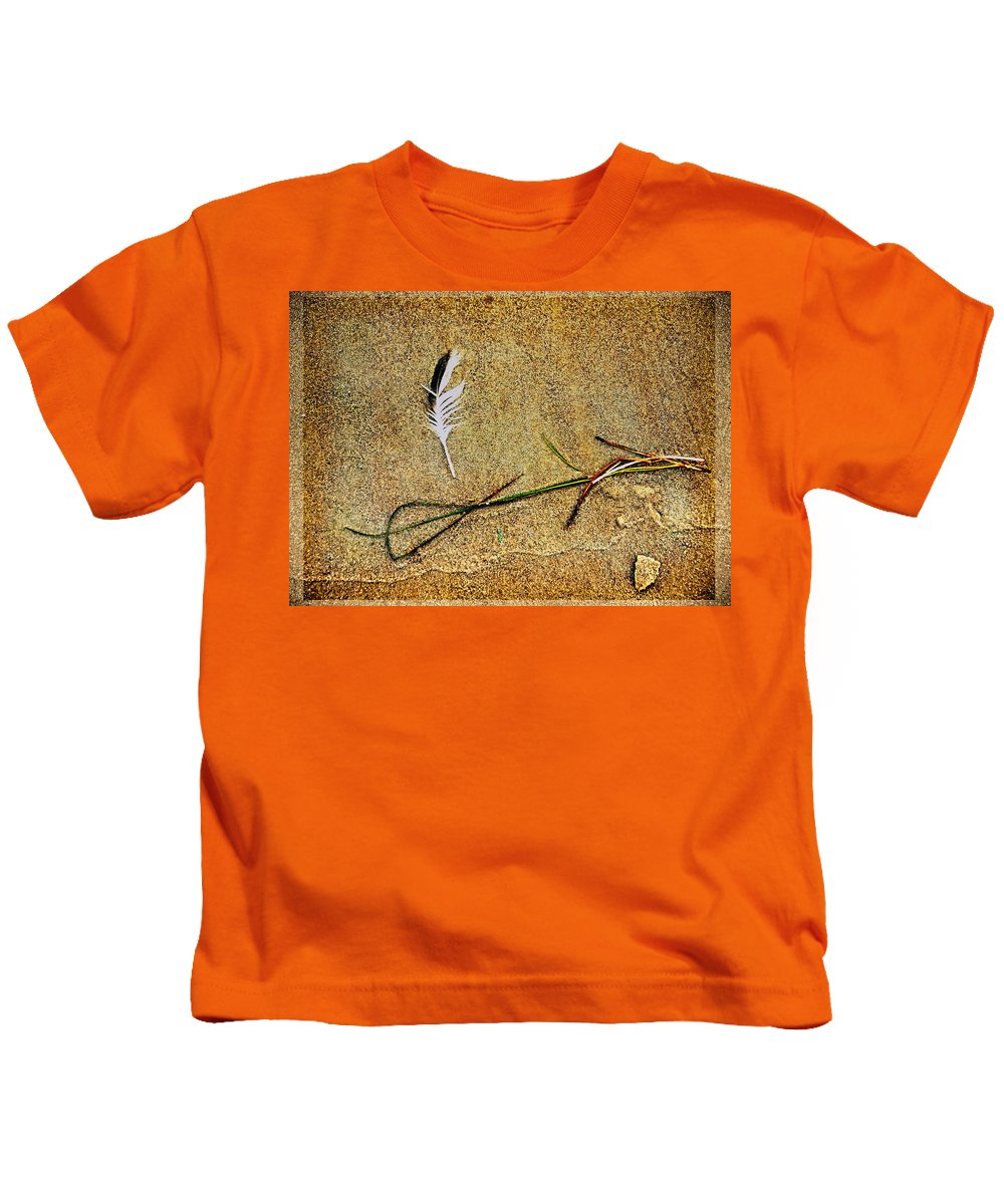 Zen Kids T-Shirt featuring the photograph Coming Home To Mother Nature Zen by Susanne Van Hulst