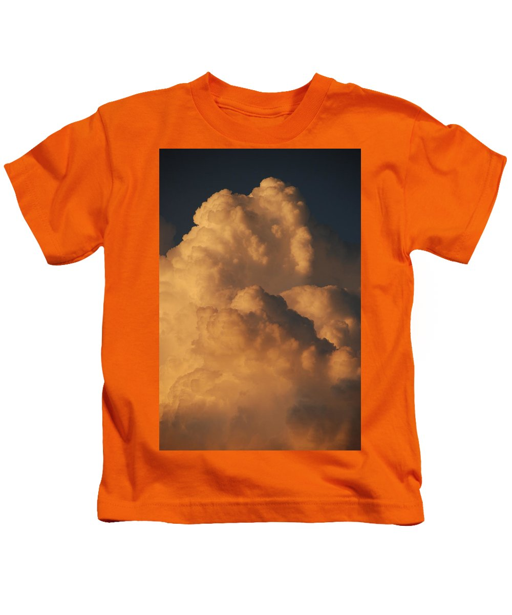 Clouds Kids T-Shirt featuring the photograph Coppermouth by Rob Hans