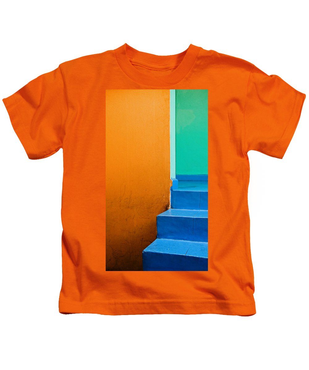 Oaxaca Kids T-Shirt featuring the photograph Creamsicle by Skip Hunt