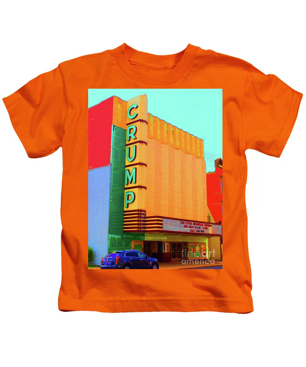 Crump Kids T-Shirt featuring the photograph Crump Color by Jost Houk