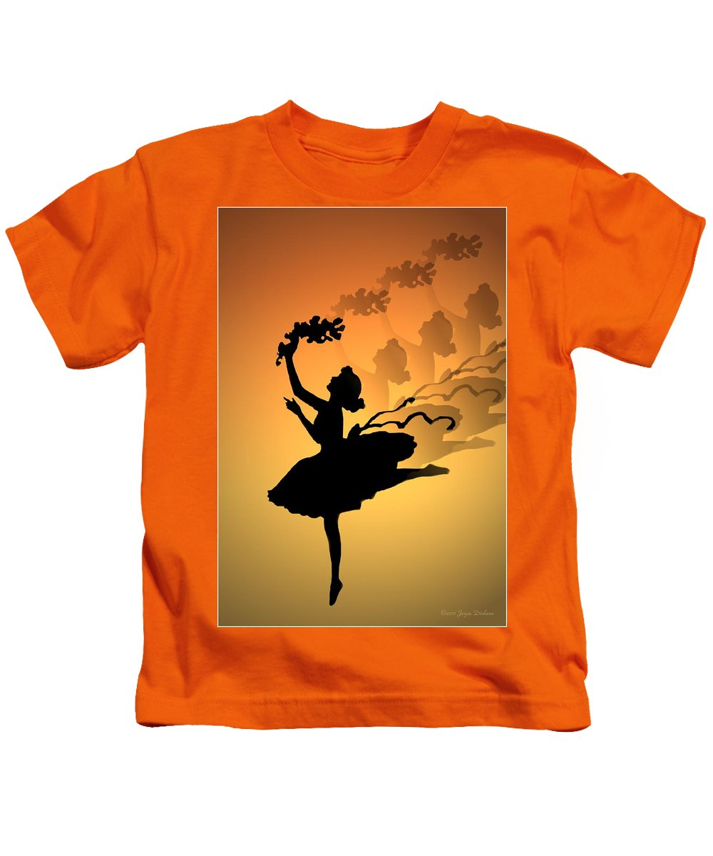 Curtain Call Kids T-Shirt featuring the photograph Curtain Call by Joyce Dickens