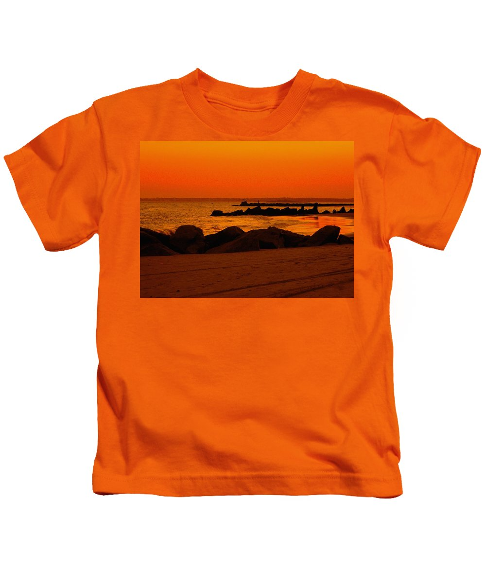 Landscape Kids T-Shirt featuring the photograph Desert Skies by Kendall Eutemey