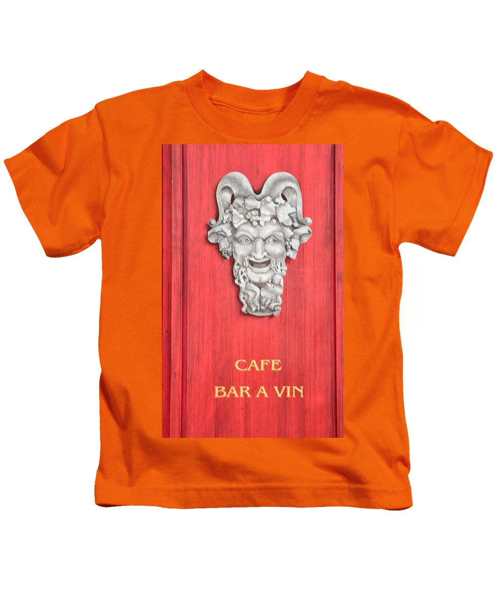 Devil Kids T-Shirt featuring the photograph Devil Sculpture by Dave Mills