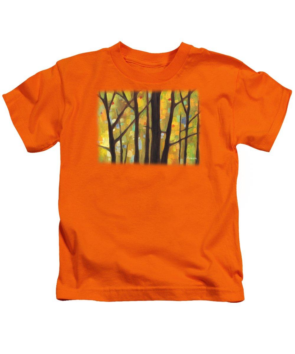 Autumn Art Kids T-Shirts