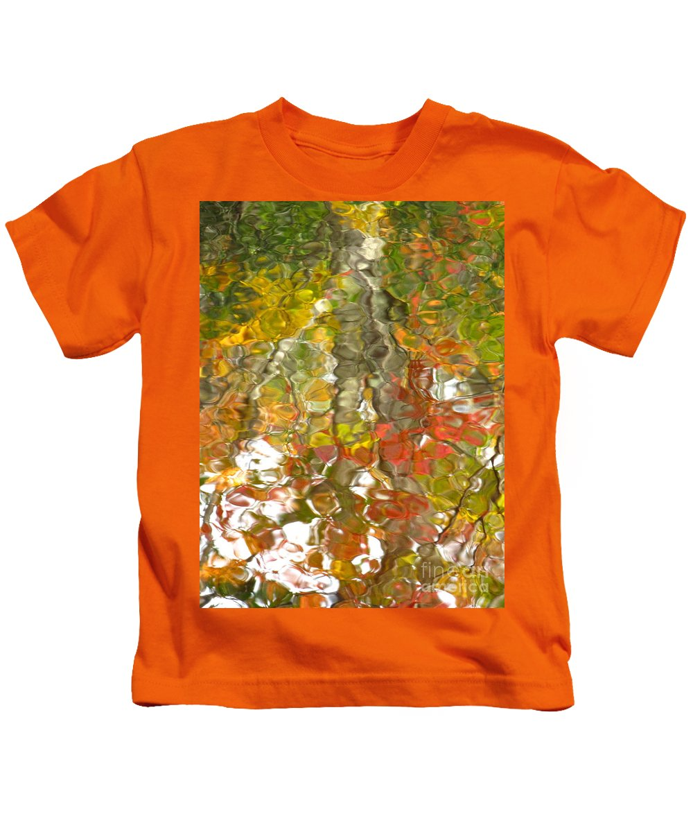Water Art Kids T-Shirt featuring the photograph Evidence Of Joy - Feel by Sybil Staples
