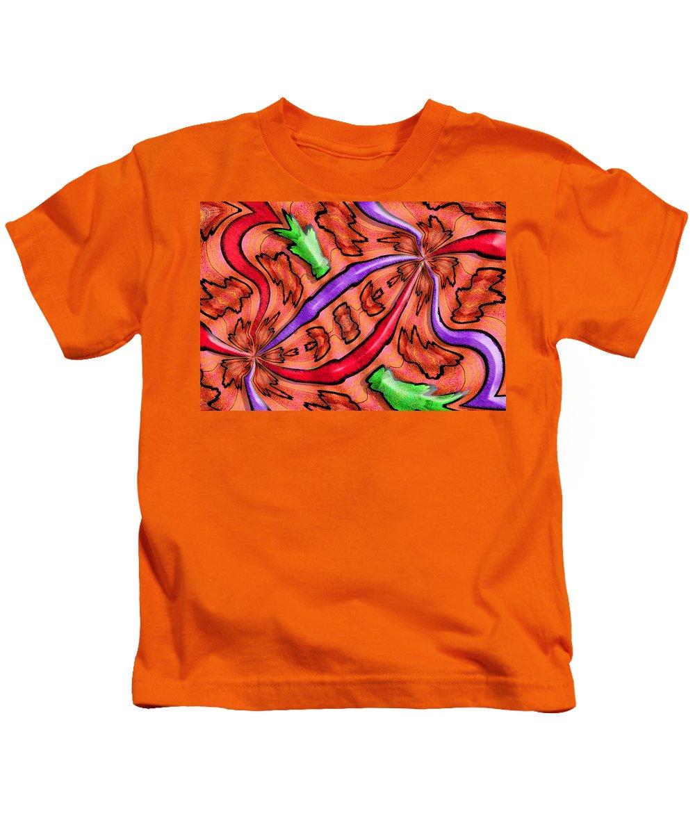 Photography Kids T-Shirt featuring the photograph Evolucion De Las Aves by Paul Wear