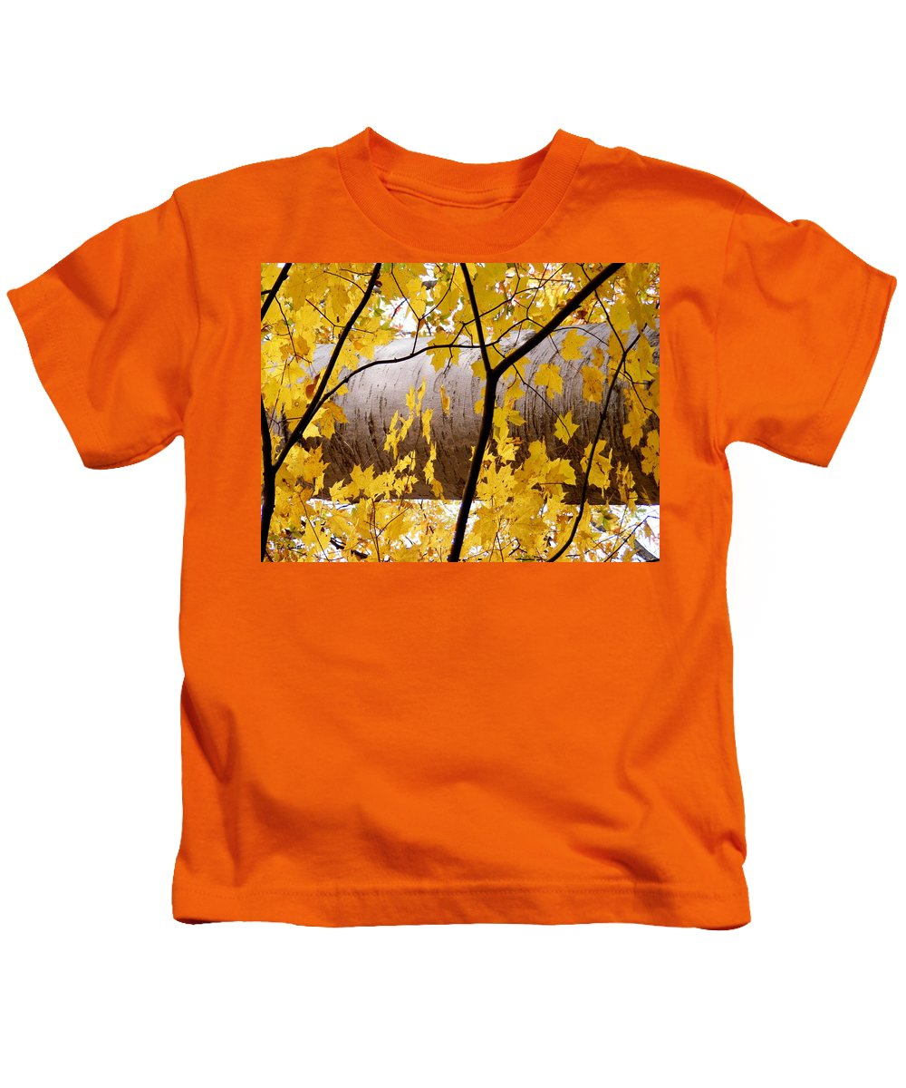 Father Nature Kids T-Shirt featuring the photograph Father Nature by Edward Smith