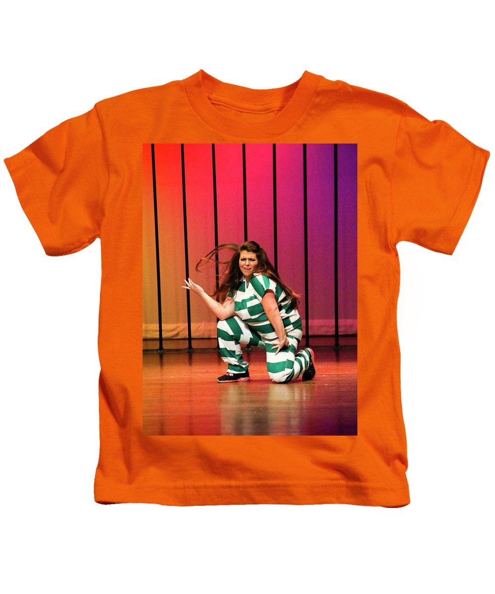 Dance Kids T-Shirt featuring the photograph Flick by Leigh Lofgren