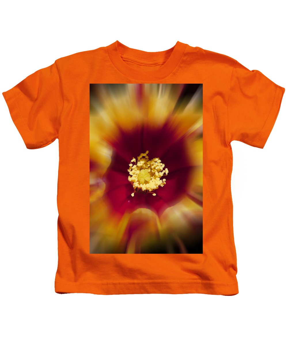Flowers Kids T-Shirt featuring the photograph Flower Graphic by Kelley King