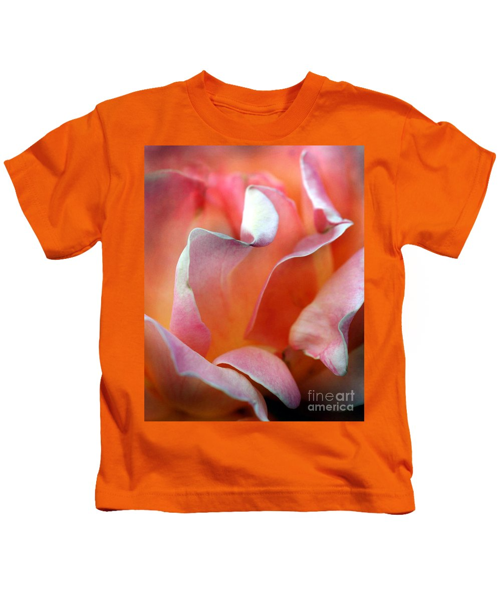 Flowers Kids T-Shirt featuring the photograph Georgias Rose by Norman Andrus