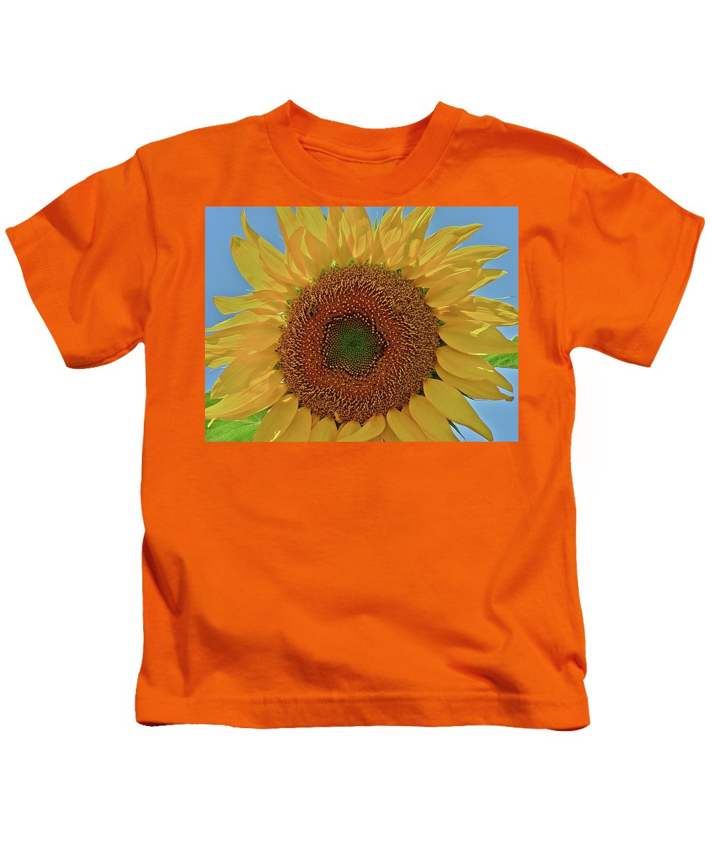 Flower Kids T-Shirt featuring the photograph Good Morning by Diana Hatcher