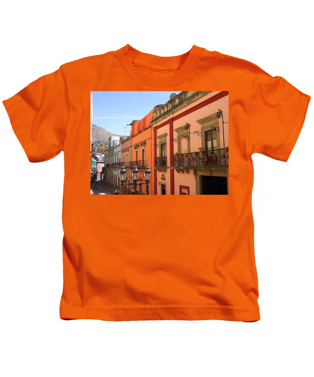 Charity Kids T-Shirt featuring the photograph Guanajuato by Mary-Lee Sanders