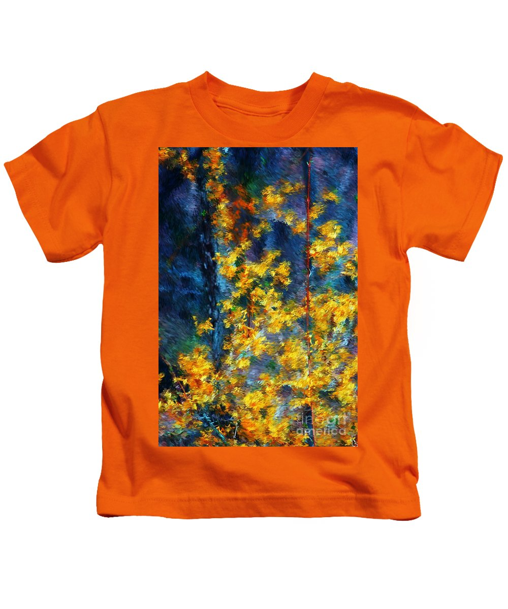 Nature Kids T-Shirt featuring the photograph In The Woods Again by David Lane
