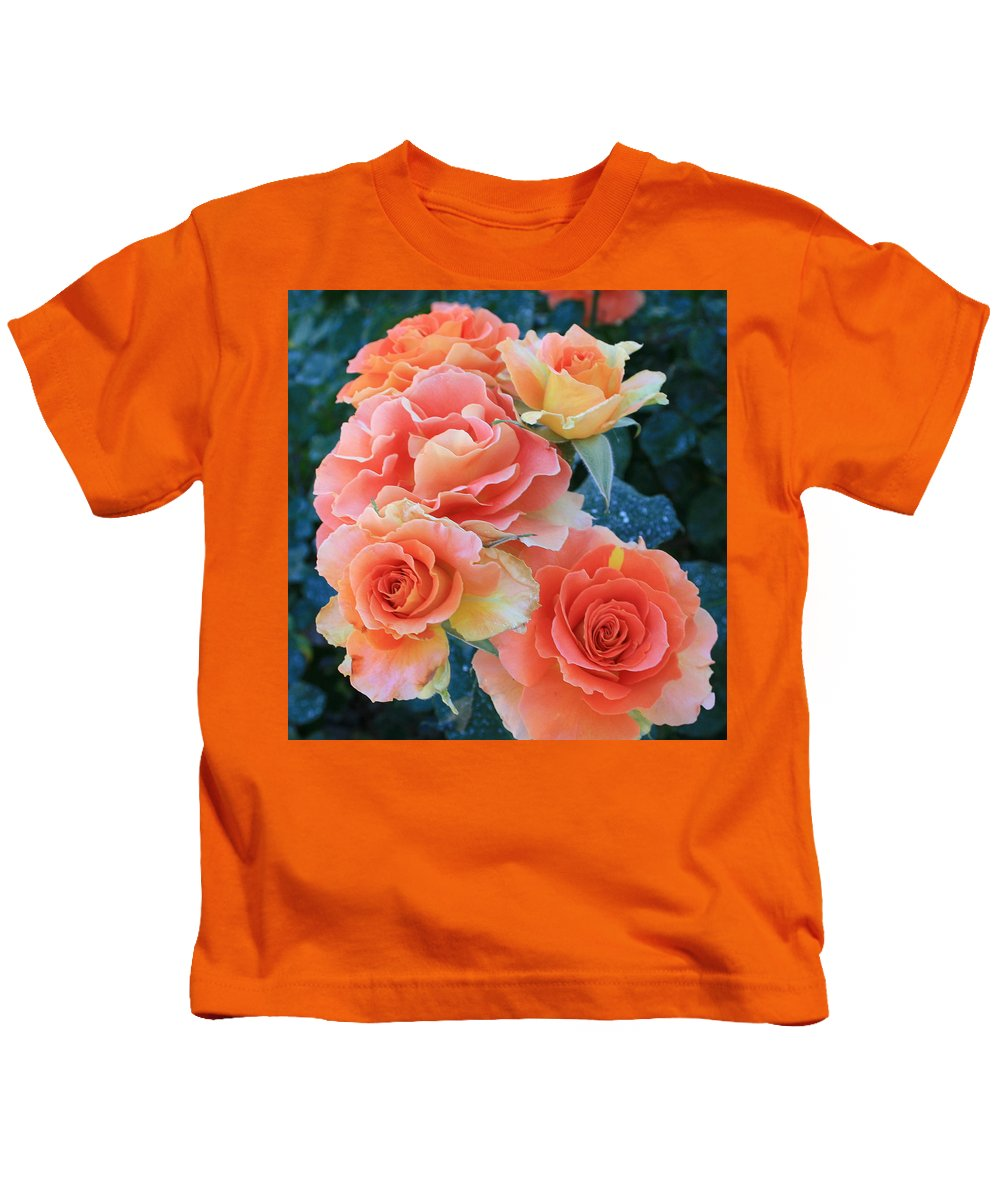 Jacob's Coat Kids T-Shirt featuring the photograph Jacob by Marna Edwards Flavell
