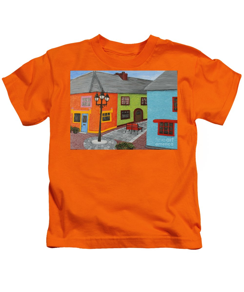 Village Kids T-Shirt featuring the photograph Kinsale Ireland by Karen Desrosiers