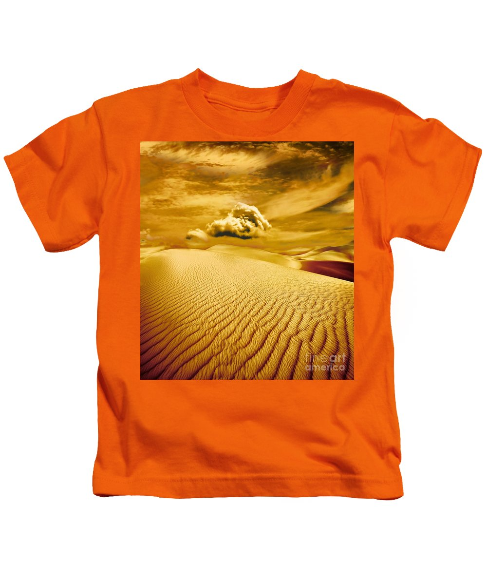 Desert Kids T-Shirt featuring the photograph Lost Worlds by Jacky Gerritsen
