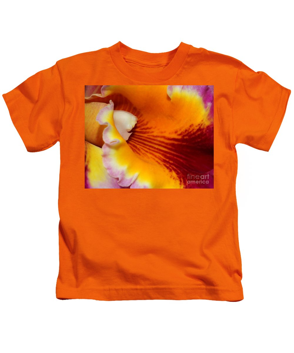 Color Kids T-Shirt featuring the photograph Lotsa Color by Sabrina L Ryan