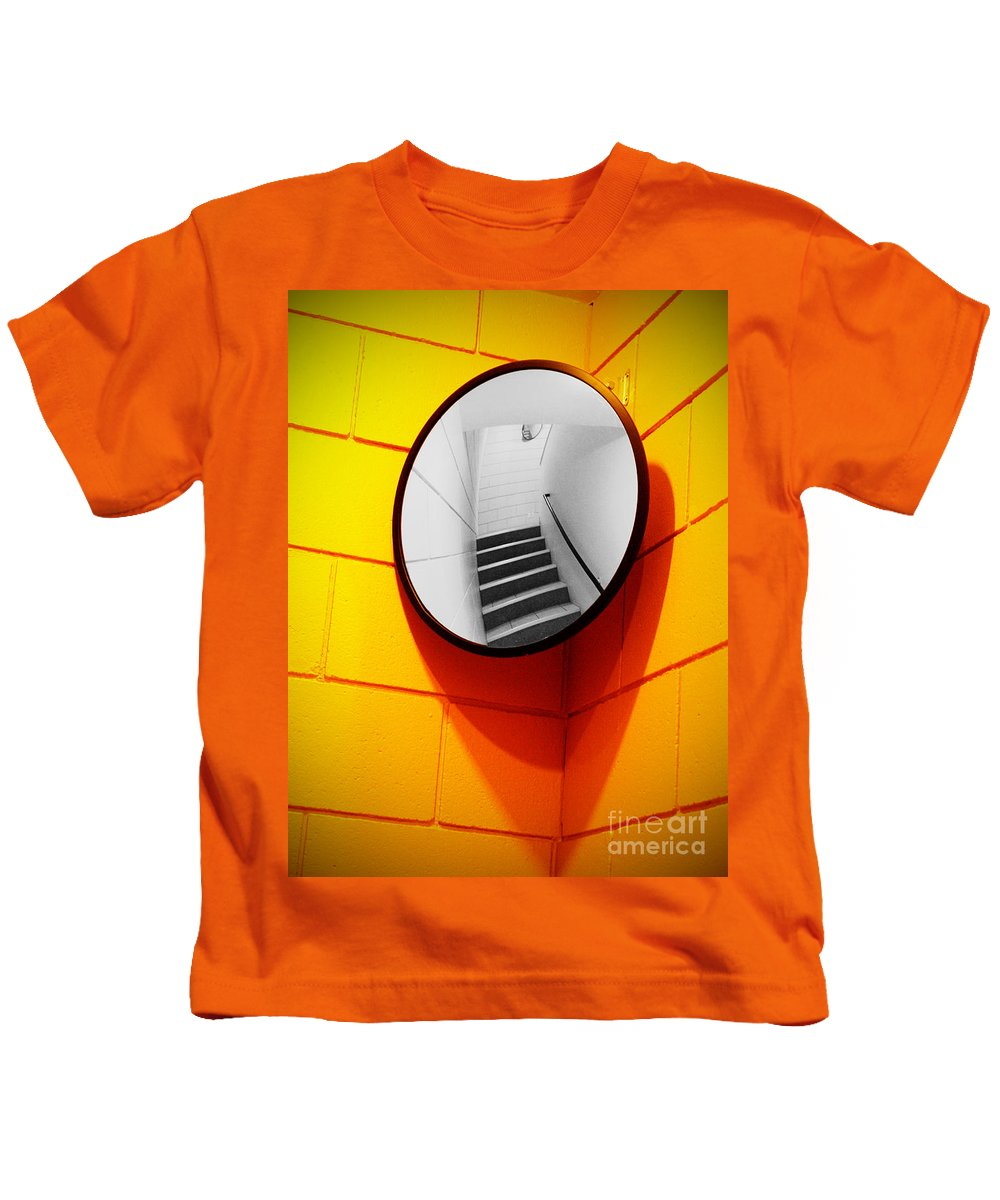 Mirror Kids T-Shirt featuring the photograph Mirror Mirror On The Wall by Tara Turner