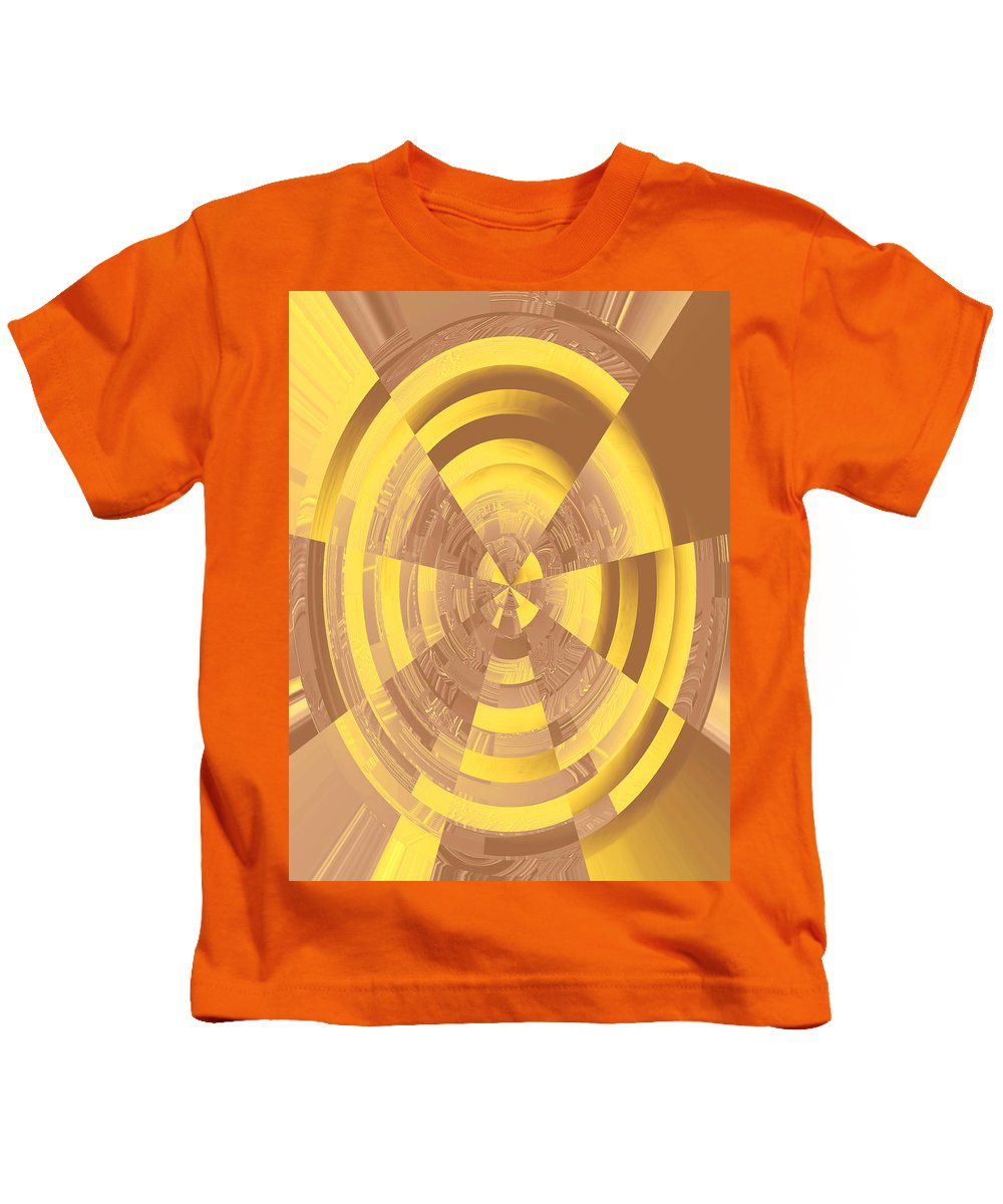 Moveonart Digital Gallery San Francisco California Lower Nob Hill Jacob Kane Kanduch Kids T-Shirt featuring the digital art Moveonart Jacobs Dream Catcher 1 by Jacob Kanduch
