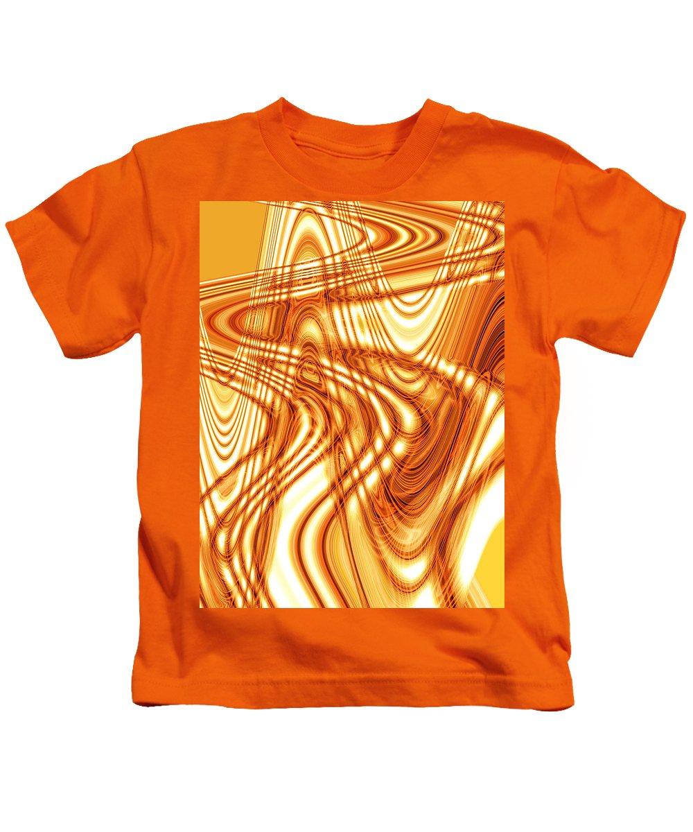 Moveonart Digital Gallery Lower Nob Hill San Francisco California Jacob Kanduch Kids T-Shirt featuring the digital art Moveonmusic Spirit Moves With Music 2 by Jacob Kanduch
