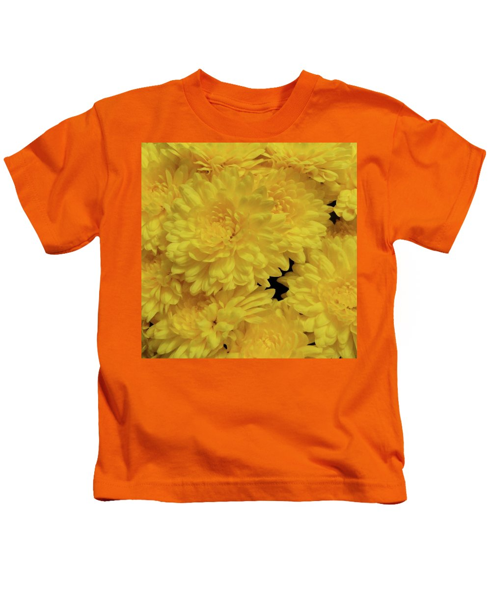 Mum Kids T-Shirt featuring the photograph Mum's The Word by Shannon Grissom