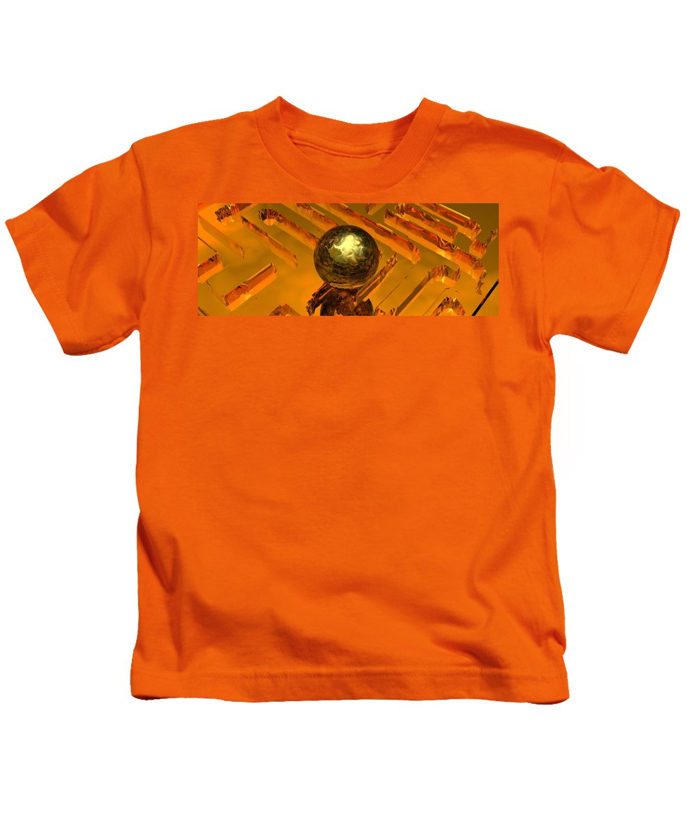Mystical Kids T-Shirt featuring the digital art Mystic Vision by Oscar Basurto Carbonell