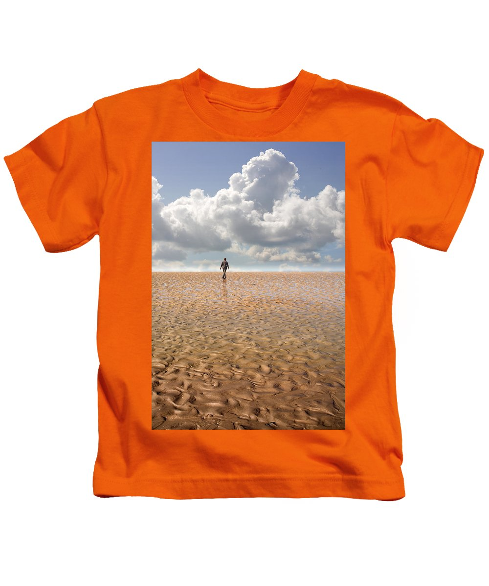 Landscape Kids T-Shirt featuring the photograph Never Go Back by Mal Bray