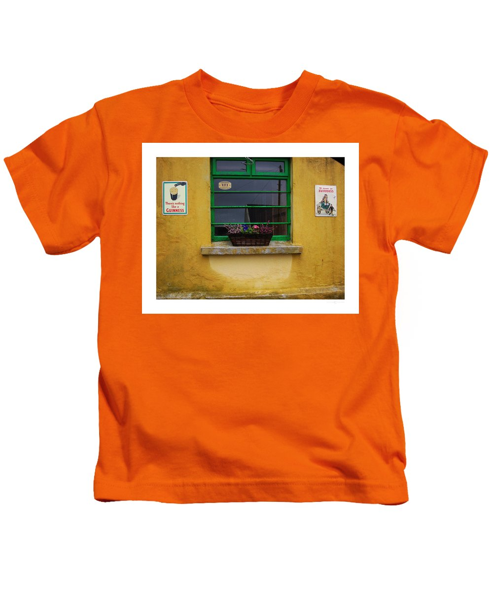 Ireland Kids T-Shirt featuring the photograph Nothing Like A Guinness by Tim Nyberg