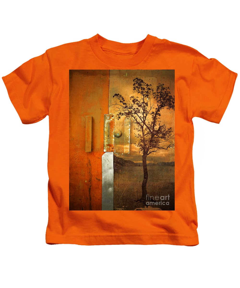 Door Kids T-Shirt featuring the photograph On The Other Side Of The Door by Tara Turner