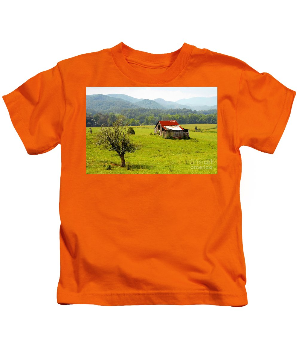 Farm Kids T-Shirt featuring the photograph Once Upon A Time by David Lee Thompson