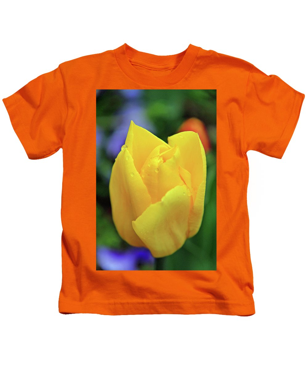 Flowers Kids T-Shirt featuring the photograph Open by Scott Mahon