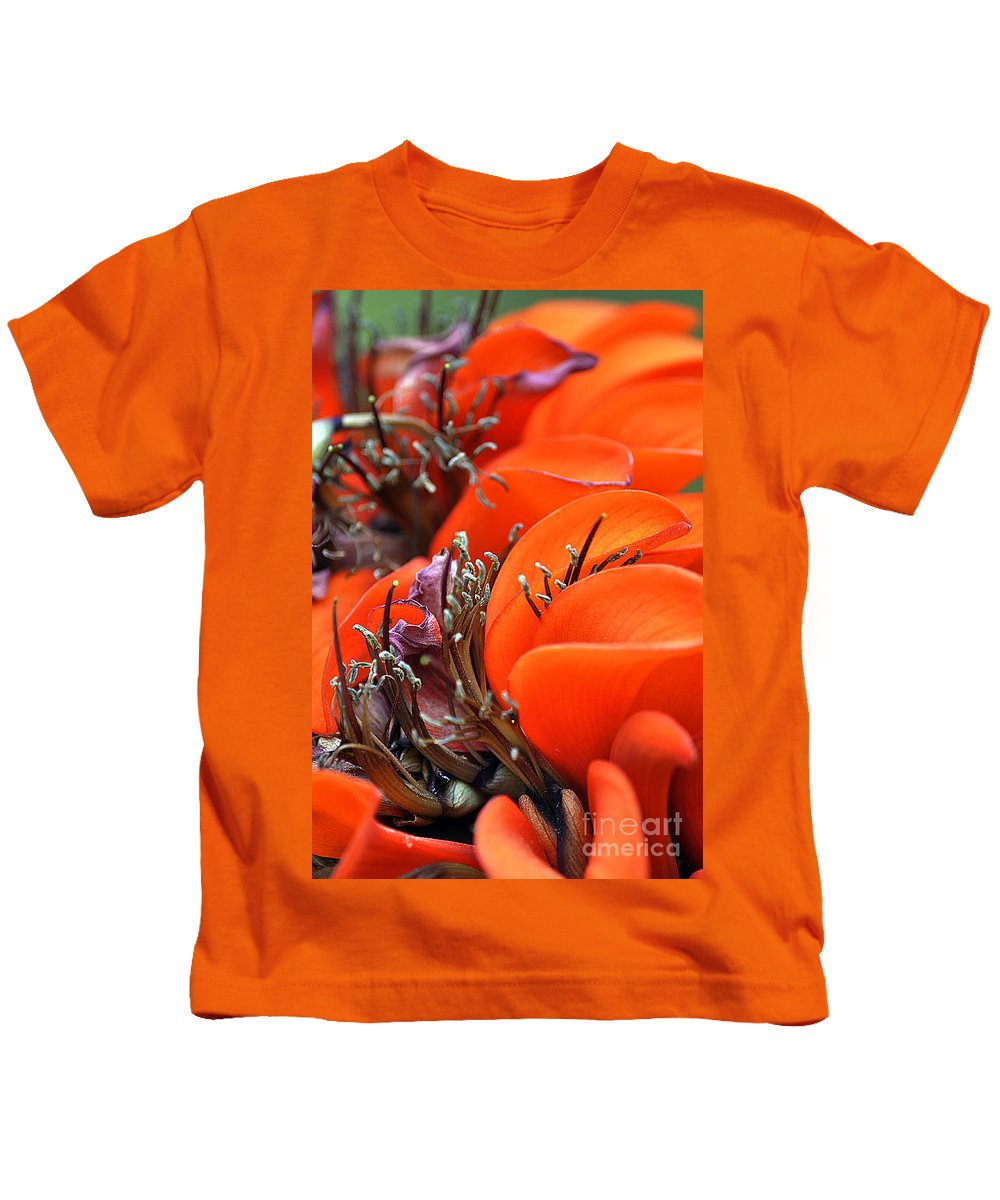 Clay Kids T-Shirt featuring the photograph Orange by Clayton Bruster