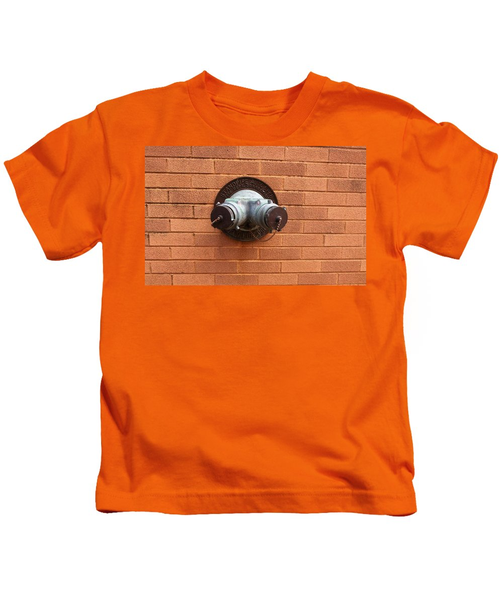 Photograph Kids T-Shirt featuring the photograph Original Female Pipe by Thomas Valentine
