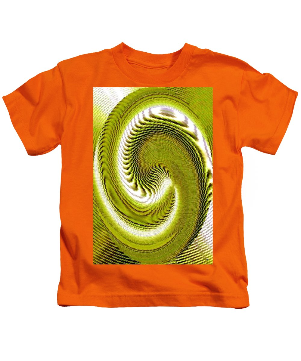 Abstract Kids T-Shirt featuring the digital art Pizzazz 28 by Will Borden