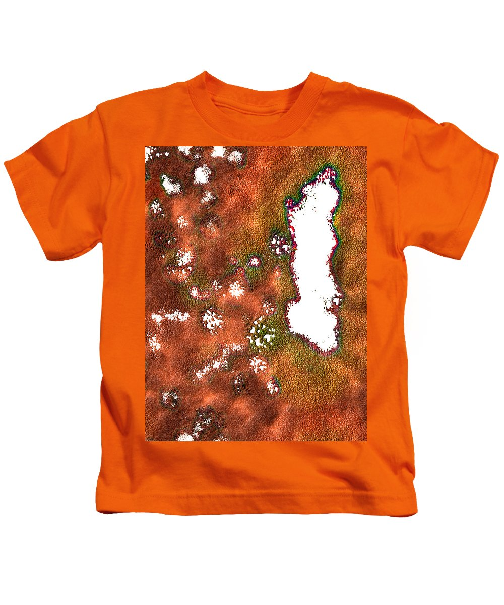 Aged Kids T-Shirt featuring the digital art Radioactive Paint by James Melton