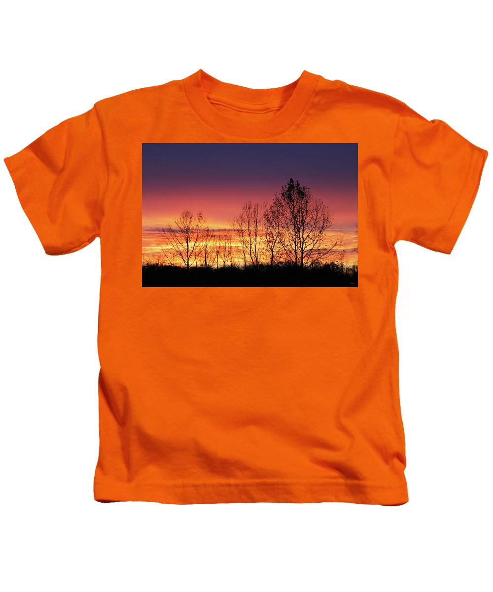 Brad Brailsford Kids T-Shirt featuring the photograph Reaching West by Brad Brailsford