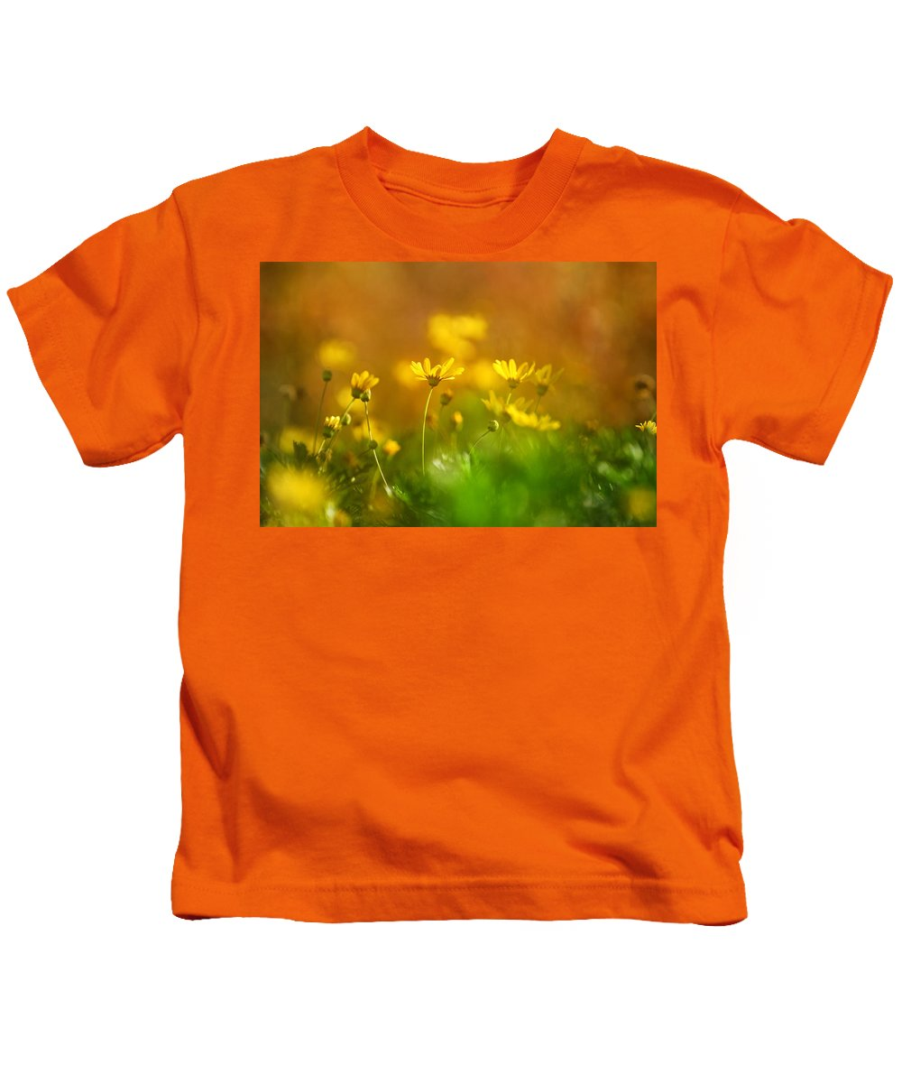Flower Kids T-Shirt featuring the photograph Renacemos by Guido Montanes Castillo