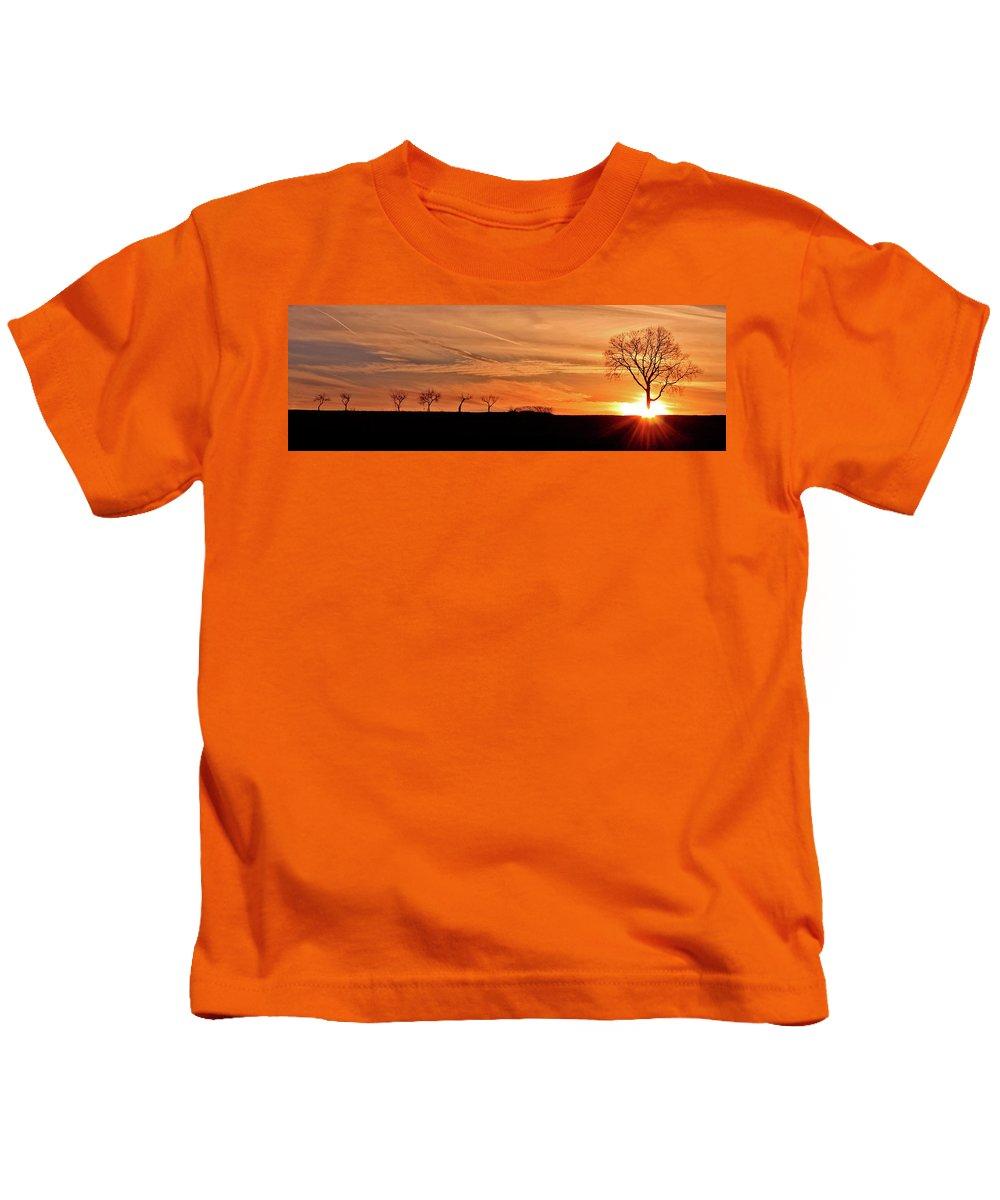 Sunrise Kids T-Shirt featuring the photograph Risen by Scott Mahon