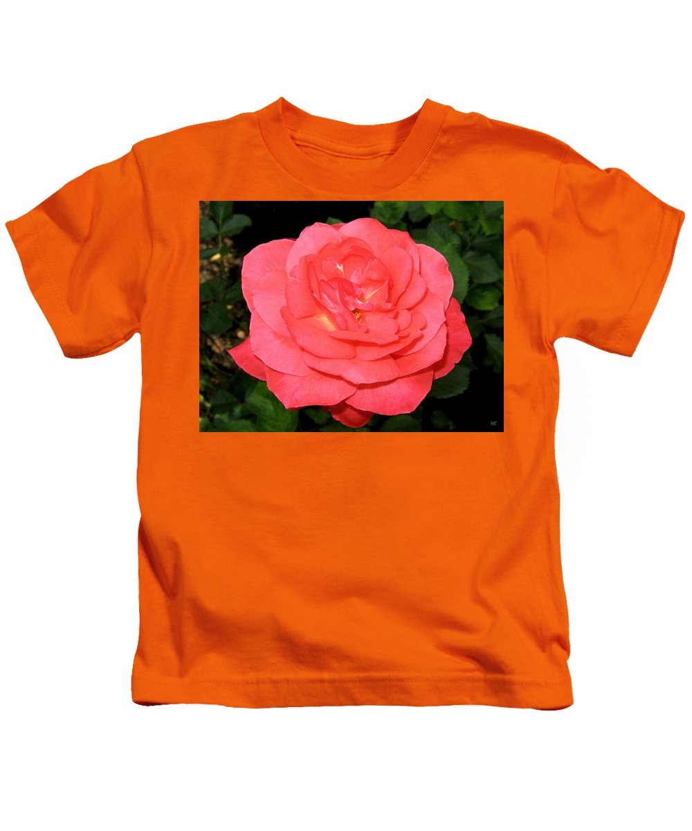 Rose Kids T-Shirt featuring the photograph Roses 3 by Will Borden