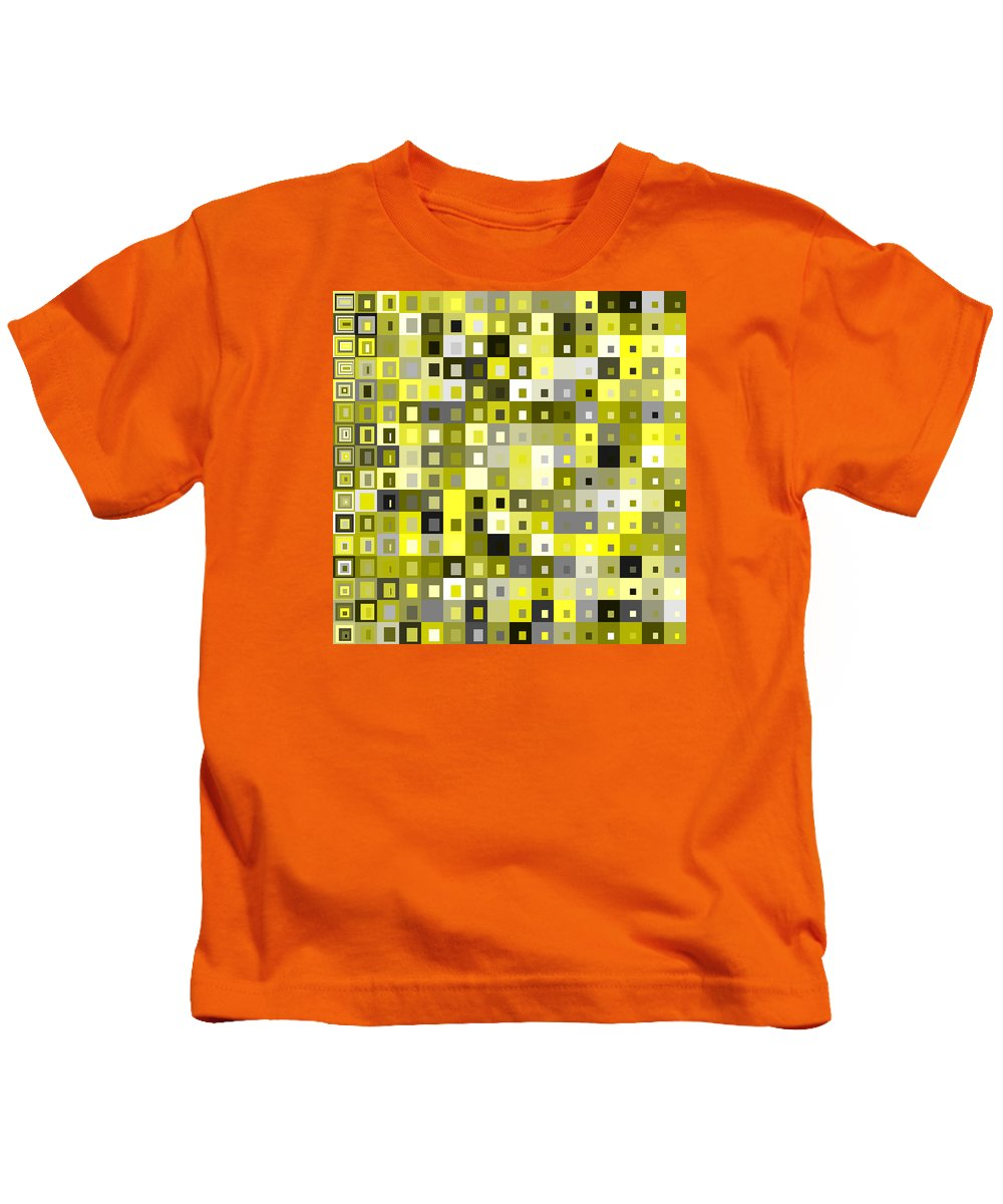 Abstract Kids T-Shirt featuring the digital art S.5.48 by Gareth Lewis