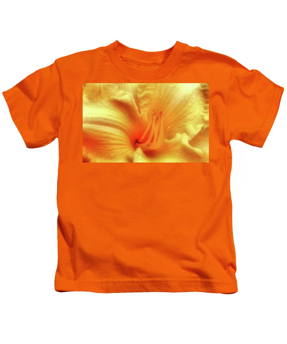 Lily Kids T-Shirt featuring the photograph Sensuous Lily by Kristin Elmquist