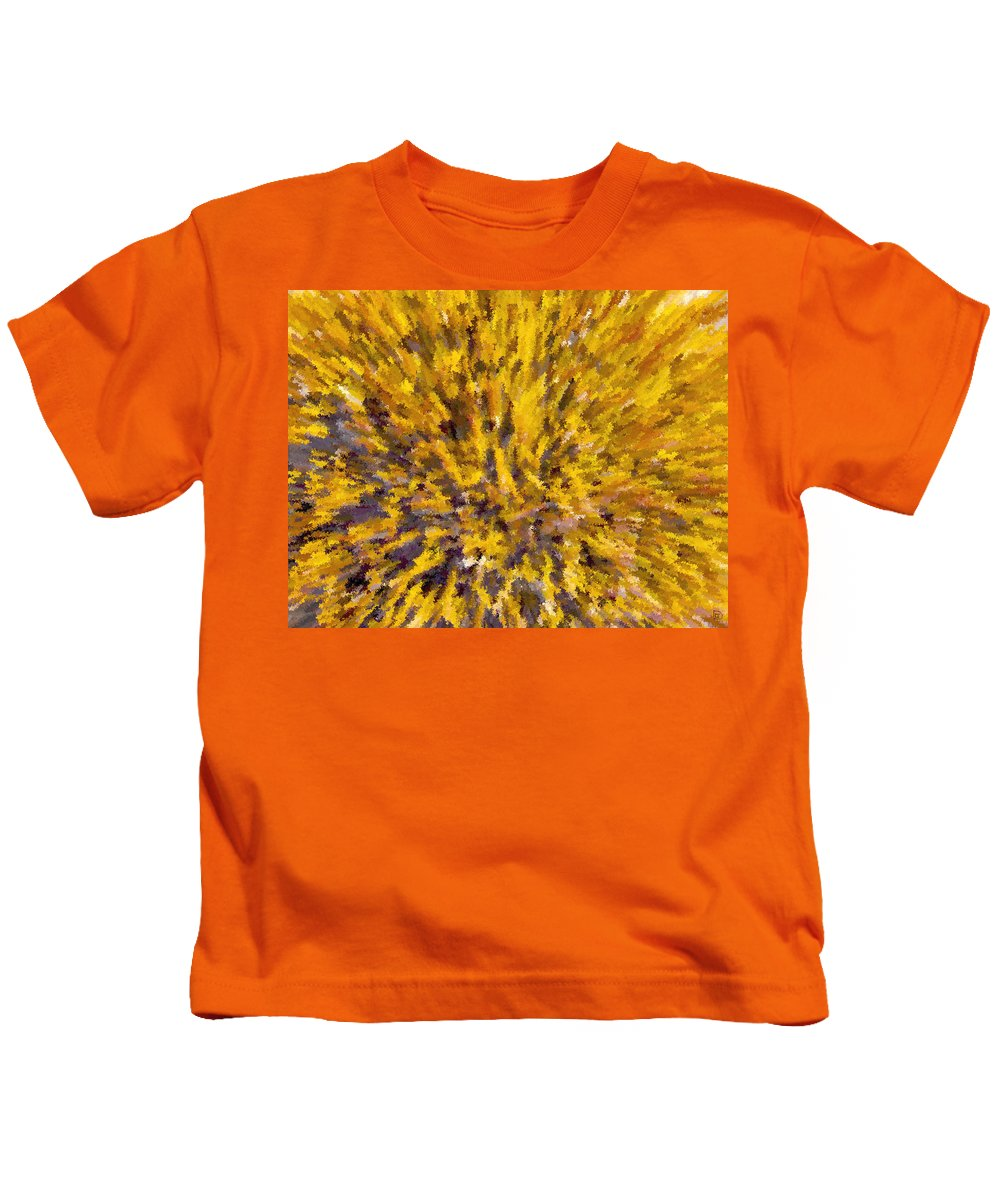 Solar Furnace Kids T-Shirt featuring the painting Solar Furnace by David Lee Thompson