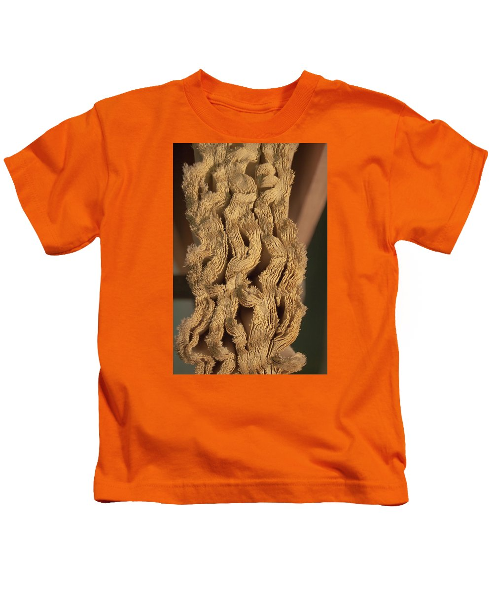 Fabric Kids T-Shirt featuring the photograph Squiggles by Grant Groberg